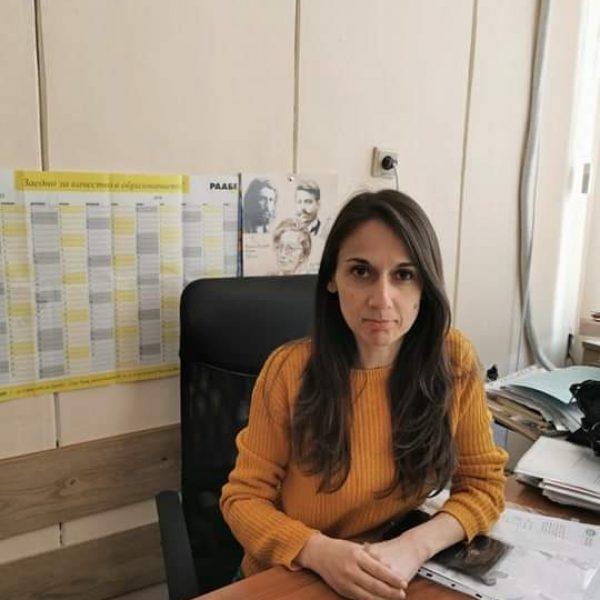 Надежда Матеева - Заместник -директор Учебна дейност прогимназиален етап